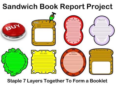 Book report newspaper template