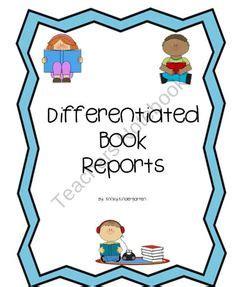 4th Grade Nonfiction Book Report Template - book report